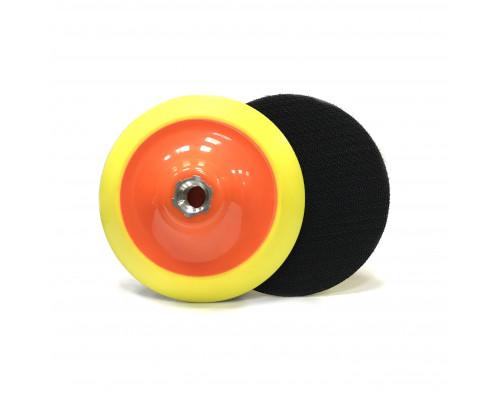 Оправка для полировальных кругов 125мм, средней жёсткости
