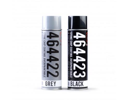 Антигравийное антикоррозийное покрытие, окрашиваемое, чёрное, аэрозоль 500 мл