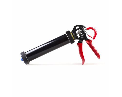 Профессиональный ручной пистолет для картриджей 310мл и туб 400мл, 1:18
