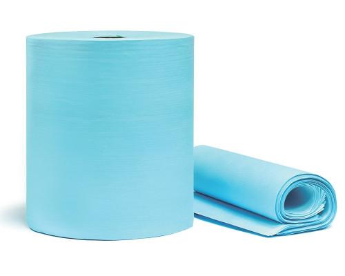 Обезжиривающая салфетка ULTRACLEAN, перфорированный рулон 400шт., 30х32см., голубая