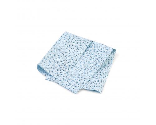 Обезжиривающая салфетка MULTICLEAN, листы 12х35шт, 32х36см., синяя