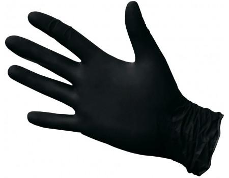 Нитриловые перчатки ROXTOP, чёрные, размер L, упаковка 100 шт., 721231