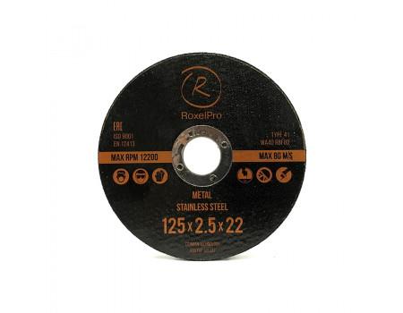 Отрезной круг ROXTOP 180 x 1.8 x 22мм, Т41, нерж.сталь, металл, 105366