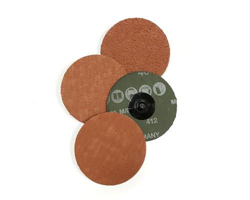 Зачистной круг ROXPRO QCD 75мм, керамика, Р80