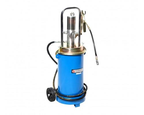 Пневматический перекатной нагнетатель смазки под закладку 17кг(50:1, производительность: 0-0.8 л/мин