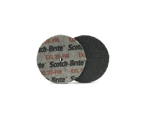 Нетканый прессованный круг ROXPRO 75*6*5mm, 3S, Fine