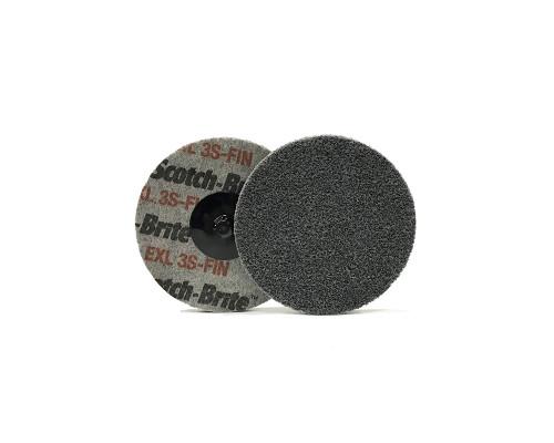 Быстросъёмный нетканый прессованный круг ROXPRO 75х6mm, 2S, Fine