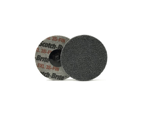 Быстросъёмный нетканый прессованный круг ROXPRO 75х6mm, 6A, Medium