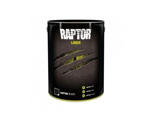 RAPTOR 2K 3:1 Защитное покрытие повышенной прочности, комплект 4л, черный