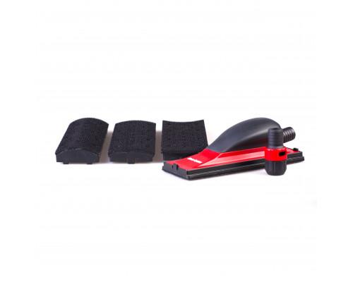 Набор для шлифования выпуклых и вогнутых поверхностей (средний шлифок 70 х 198мм, 4 накладки, регуля
