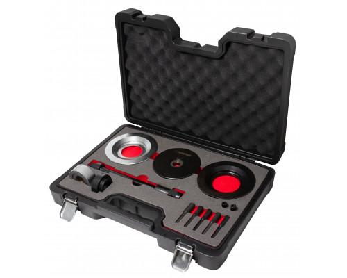 """Набор инструментов для замены ступичных подшипников VW T5 (Ø62мм) в кейсе""""Premium"""""""