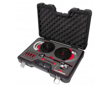 """Набор инструментов для замены ступичных подшипников VW T5 (Ø85мм) в кейсе""""Premium"""", F-917T3D"""