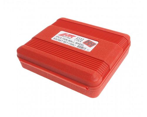 Набор головок ударных для литых дисков 17-19-22мм, L=100мм 3 предмета JTC