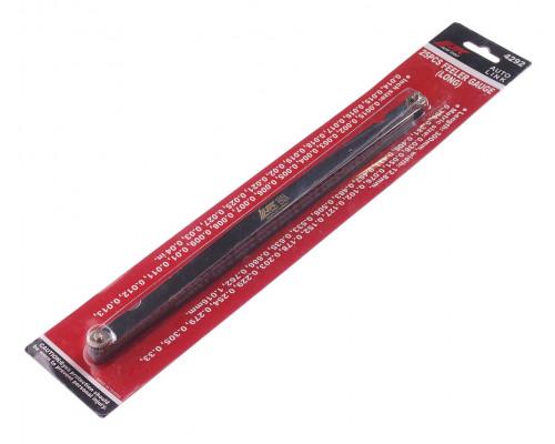 """Набор щупов 0.038-1.016мм (0.0015""""-0.04"""") прямых удлиненных для установки зазора 25шт. JTC"""