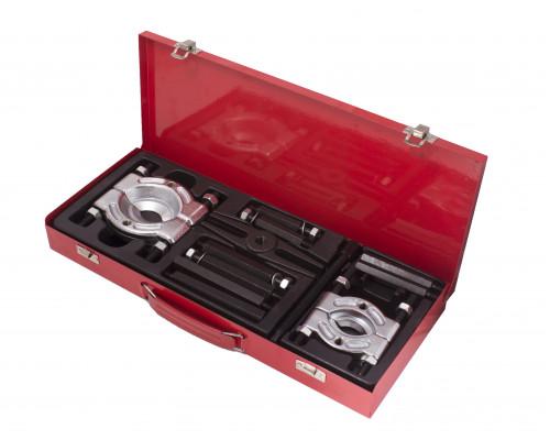 Набор съемников сегментного типа (30-50мм, 50-75мм) 12пр., в металлическом кейсе