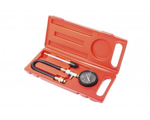 Индикатор компрессии бензинового двигателя Profi (М14, М18 + жесткий прижимной адаптер-переходник) 3
