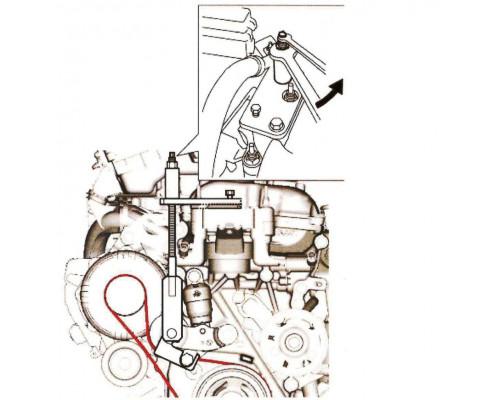 Приспособление для замены приводного ремня (SUZUKI) JTC