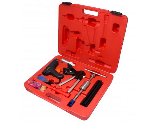 Набор инструментов для безпокрасочного удаления вмятин с термопистолетом 32пр., в кейсе
