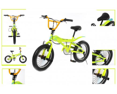 Велосипед подростковый трюковый (рама: сталь; вилка: regid, сталь; ободные тормоза; мягкое седло; ди