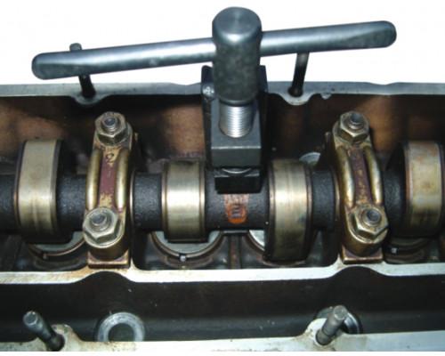 Приспособление для установки регулировочных шайб клапанов (VOLVO OPEL) JTC