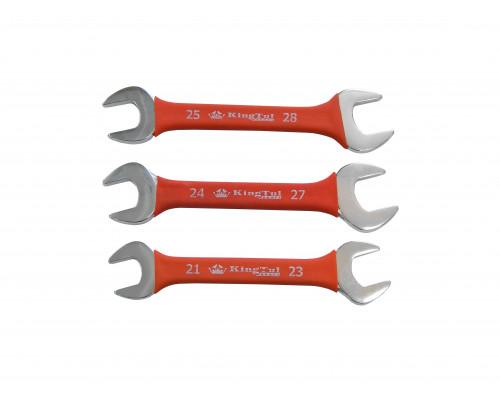Ключ рожковый 25х28мм в прорезиненной оплетке