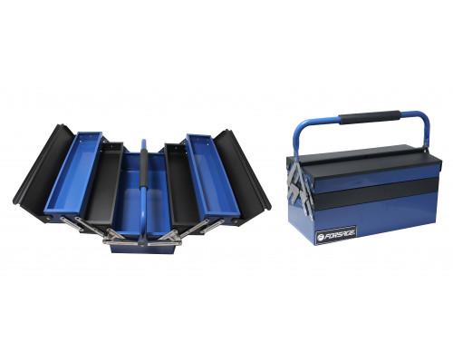 Ящик инструментальный складной на 5 отделений прорезиненной накладкой на ручку (420х210х210мм, 400х9