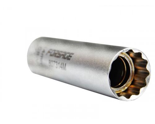 """Головка свечная, магнитная, 14мм, L=65mm 3/8"""" 12гр."""