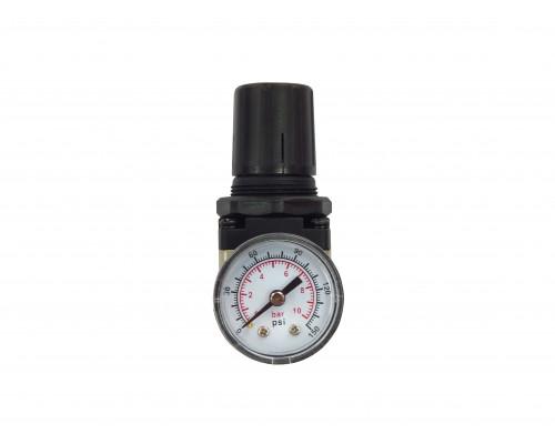 "Регулятор давления воздуха с индикатором 1/4""(F)x1/4""(F) (0-10bar)"