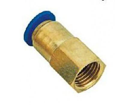 """Фитинг для пластиковых трубок 4мм с внутренней резьбой 1/8"""", SPCF04-01"""