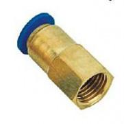 """Фитинг для пластиковых трубок 8мм с внутренней резьбой 3/8"""""""