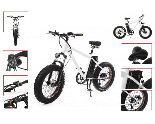 Велогибрид(Мотор-колесо(300Вт,36В);пробег-40км(10 Аh); рама-сталь; Vmax-35км/ч ; Shimano 7-speed; ди