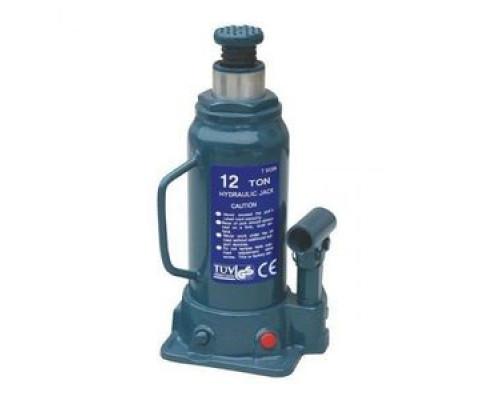 Домкрат бутылочный 12т с клапаном (h min 230мм, h max 465мм)