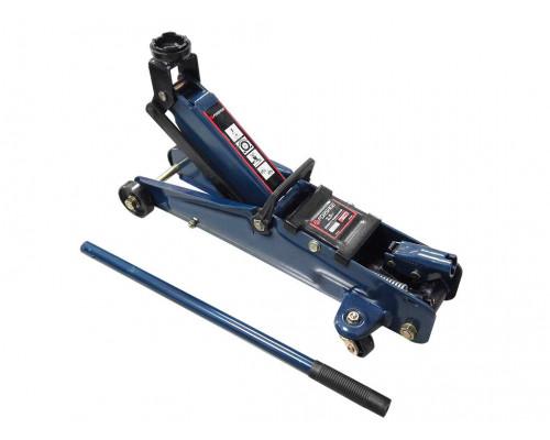 Домкрат подкатной  2 т с вращающейся ручкой 180 градусов(h min 140мм, h max 340мм,вес 9,5 кг)