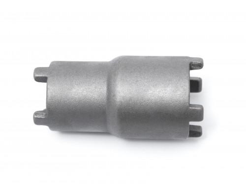 Ключ для откручивания стопорной шлицевой гайки на 4 уса (двухсторонний 1х26мм, 1х30мм)