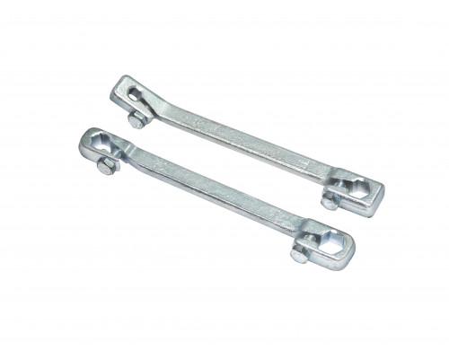 Ключ для тормозных трубок с зажимом 7х11мм