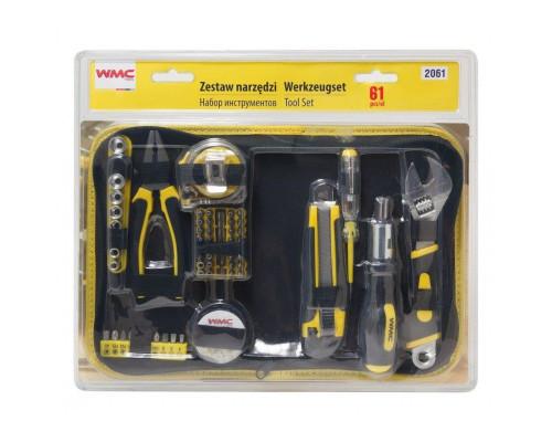 Набор инструментов 61пр, в сумке