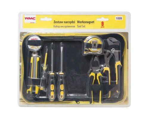 Набор инструментов 9пр, в сумке