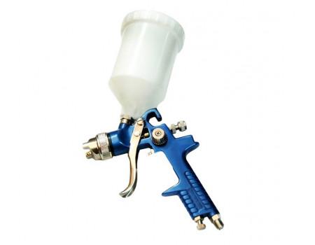 Краскораспылитель с верхним пластиковым бачком (бачок 600мл, сопло 2.0мм, 3.5bar, 70-100 л/мин, прис, H-827-4V