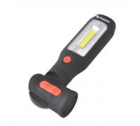 Лампа светодиодная аккумуляторная(2 магнита,2крючка,180гр.,боковой свет 3WСОВ,торцевой свет1W1LED,3.