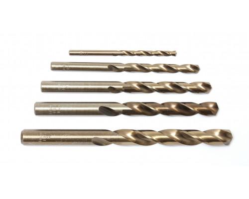 Сверло по металлу 6.5мм HSS (10шт), в пластиковом футляре
