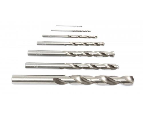 Сверло по металлу 7.5мм HSS+Co (10шт), в пластиковом футляре