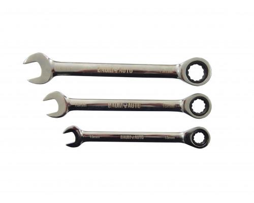 Ключ комбинированный трещоточный 19мм