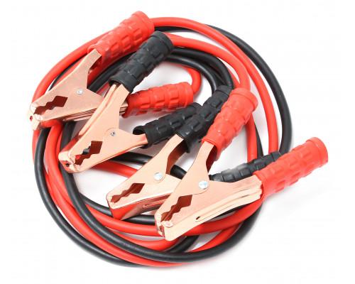 Стартовые провода 500 Aмпер в чехле, 3м, морозостойкая изоляция