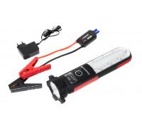 Фонарь светодиодный аккумуляторный с накопителем и функцией пуска а/м(12V,12000mAH,400Amp,480/60Lume