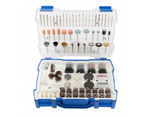 Набор аксессуаров для мини-дрелей, 239пр., в пластиковом кейсе