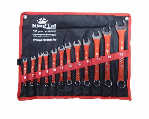 Набор ключей комбинированных 12пр.(6-14,17,19,22мм) на полотне