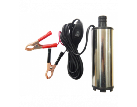 Насос для перекачки топлива (12В, диам. 51 мм, мощность 60Вт, 30 л/мин., диам. выходного отверстия 1, ST33-12