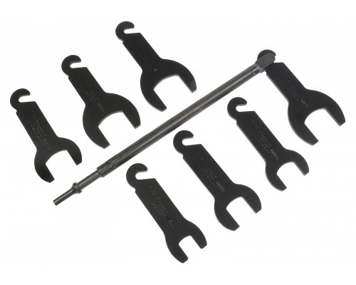 """Набор ключей для муфты вентиляторов 1/2"""", 10пр.(36,39,47,54,57,60,72,76,82мм), в кейсе """"Pemium"""""""