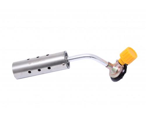 Горелка газовая паяльная на цанговый баллон (t-1300гр., L-210мм), в блистере
