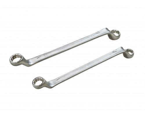 Ключ накидной отогнутый на 75 грд. 21X23мм
